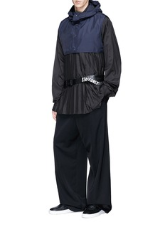 Staffonly Aigo褶裥府绸polo式衬衫