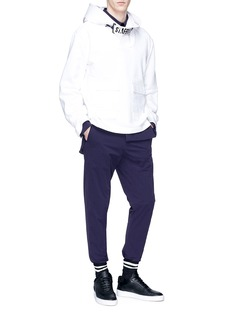 Staffonly 'Unagi' layered waist pants