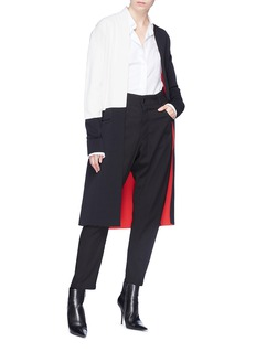 Haider Ackermann Colourblock open cardigan