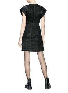 Alexander Wang  Deconstructed tweed dress