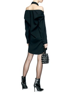 Alexander Wang  Raglan zip shirt dress