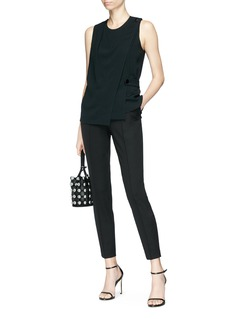 Alexander Wang  Mock wrap sleeveless top