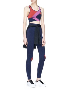 LNDR Star jacquard sports bra and leggings gift set