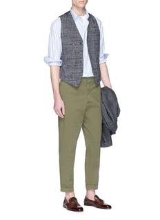 Barena 'Coppi Cocai' stripe woven cotton shirt