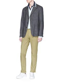 Barena 'Ruspa Flam' stripe knit polo shirt