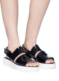 Melissa 'Soho' slingback platform sandals