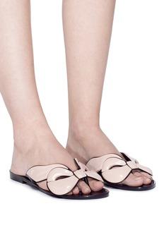 Melissa 'Harmonic Maxi Bow' PVC flip flops