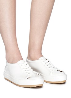 Melissa 'Be' PVC lace-up sneakers