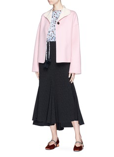 Marni Virgin wool blend melton coat
