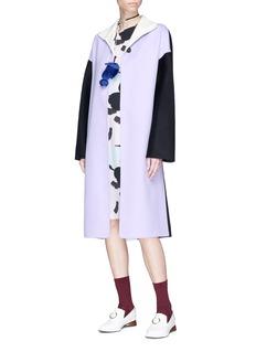 Marni Double face virgin wool blend melton coat