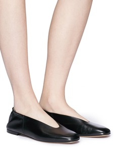 Vince 'Lorelle' choked-up leather ballet flats