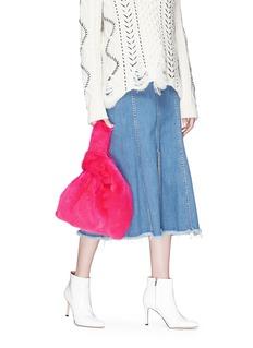 Simonetta Ravizza 'Furrissima' mink fur sac bag