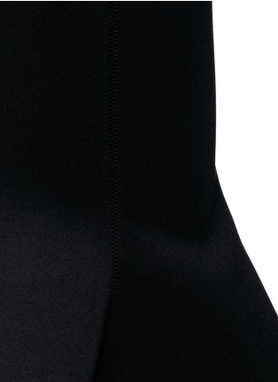 Detail View - Click To Enlarge - Comme Moi - Scuba jersey fishtail midi skirt