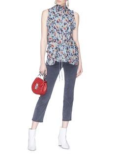Chloé Floral print sleeveless top