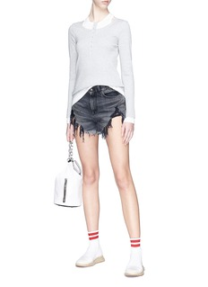T By Alexander Wang Tank layered sweater