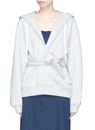 Main View - Click To Enlarge - T By Alexander Wang - Wrap hoodie
