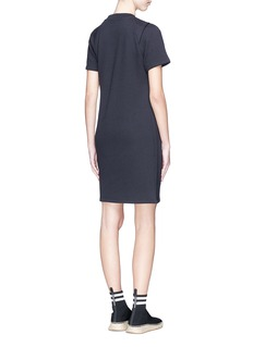 T By Alexander Wang Asymmetric drape front knit dress
