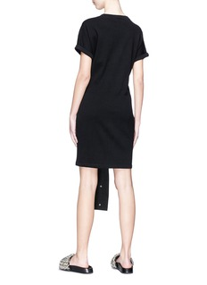 T By Alexander Wang Sleeve tie knit dress
