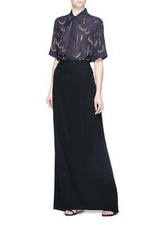 Dries Van Noten 'Cakunga' glass crystal embellished shirt