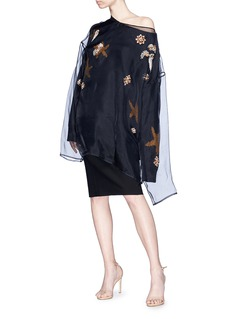 Dries Van Noten Star intarsia oversized sweater