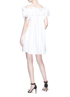 Alexander McQueen Ruffle off-shoulder dress