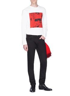 CALVIN KLEIN 205W39NYC 'Dennis Hopper' print sweatshirt