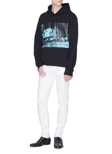 CALVIN KLEIN 205W39NYC '5 Deaths' print hoodie