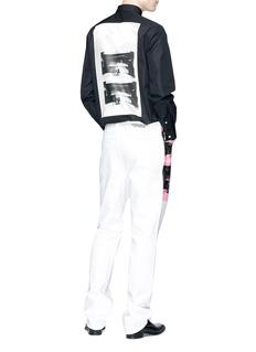 CALVIN KLEIN 205W39NYC 'Little Electric Chair' appliqué shirt