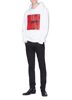 CALVIN KLEIN 205W39NYC 'Dennis Hopper' print hoodie