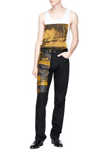 CALVIN KLEIN 205W39NYC '5 Deaths' print jeans