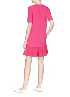 Stella McCartney Crepe peplum dress