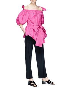 Stella McCartney 'Michelle' off-shoulder taffeta top