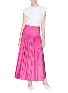 Stella McCartney 'Cynthia' ruched taffeta skirt