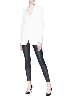 SAINT LAURENT Virgin wool tuxedo blazer