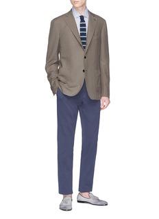 Lardini 'Sartoria' wool-silk blazer
