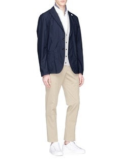 Lardini Linen-silk cardigan