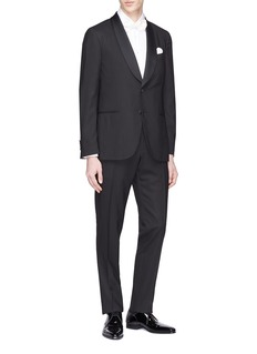 Lardini 'Supersoft' wool tuxedo suit