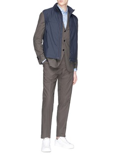 Lardini 'Easy Wear' packable cotton suit