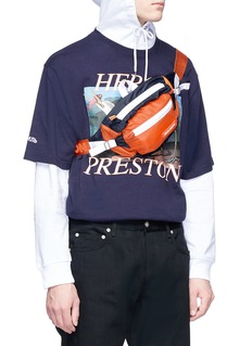 Heron Preston 拼色腰包