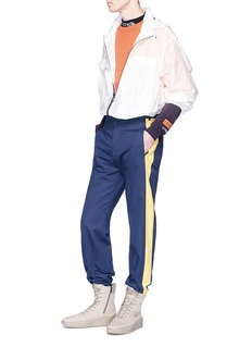 Heron Preston 品牌名称扎染纯棉长袖T恤