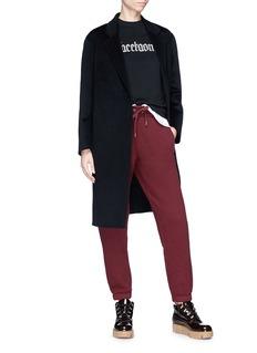 Chris Ran Lin x Lane Crawford Oversized wool-cashmere melton coat