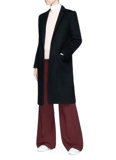 Chris Ran Lin x Lane Crawford Long melton coat