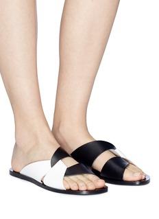 ATP Atelier 'Allai' knot strap leather slide sandals