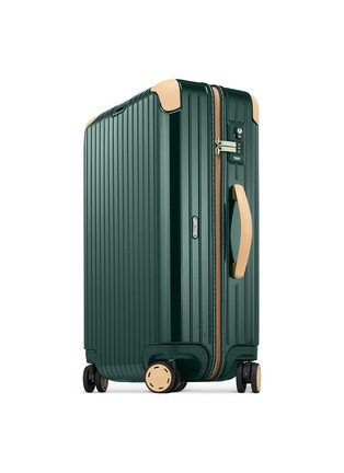 Figure View - Click To Enlarge - RIMOWA - Bossa Nova Multiwheel® (Jet Green/Beige, 57-litre)
