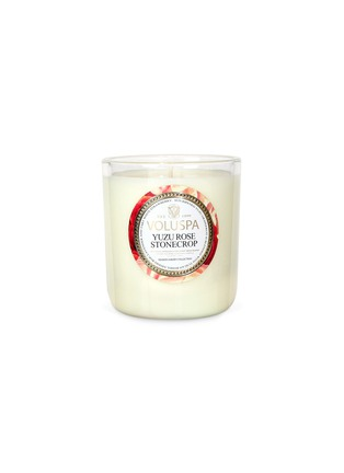 Main View - Click To Enlarge - VOLUSPA - Maison Jardin Yuzu Rose scented candle 340g