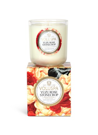 - VOLUSPA - Maison Jardin Yuzu Rose scented candle 340g