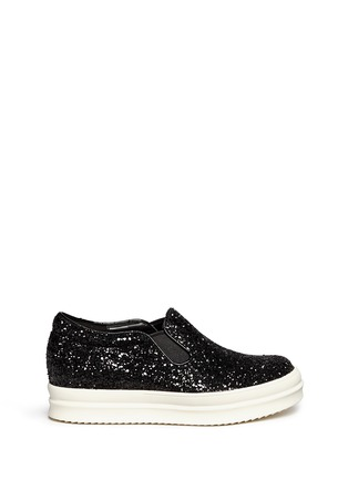 Main View - Click To Enlarge - Pedder Red - Glitter skate slip-ons