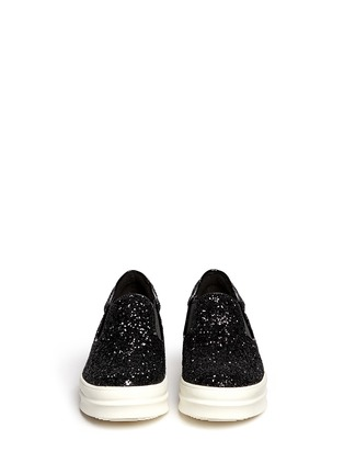 Figure View - Click To Enlarge - Pedder Red - Glitter skate slip-ons