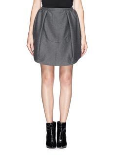 CARVENOversize pleat pouf skirt