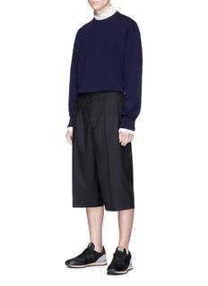 Stella McCartney 'Intoxication' knit panel cashmere-wool sweater